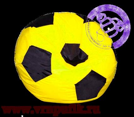 Кресло-мяч Oxford желтый с черным