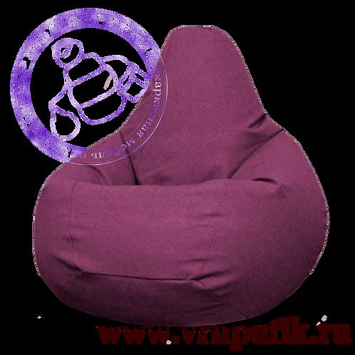 Кресло-груша Велюр Lankom plain Rose