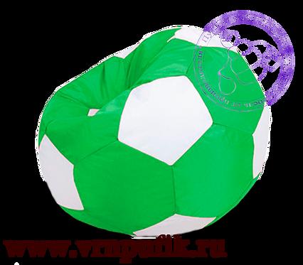 Кресло-мяч Oxford зеленый с белым
