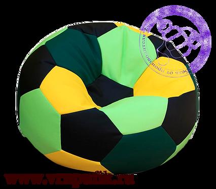 Кресло мяч искусственная кожа разноцветный