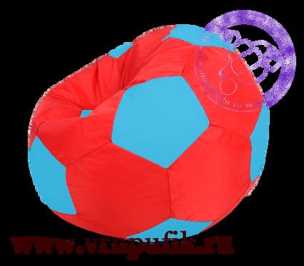 Кресло-мяч Oxford красный с синим