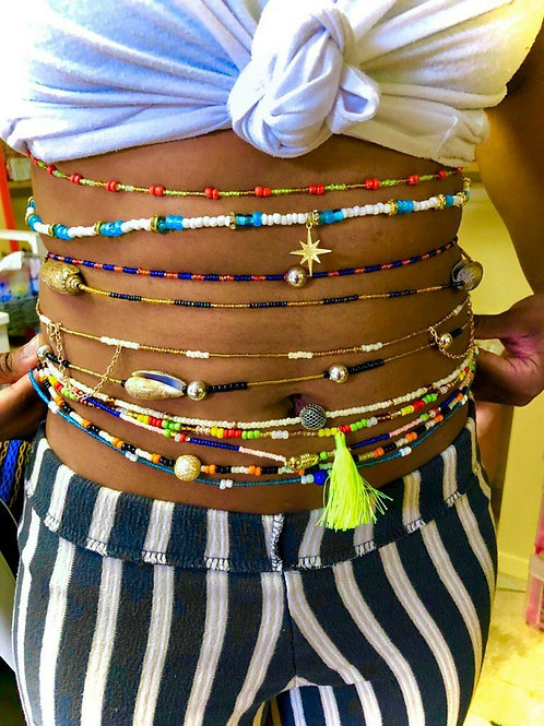 Anklet with Waistbeads