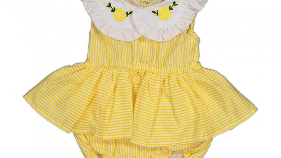 Body Kleidchen - gelb