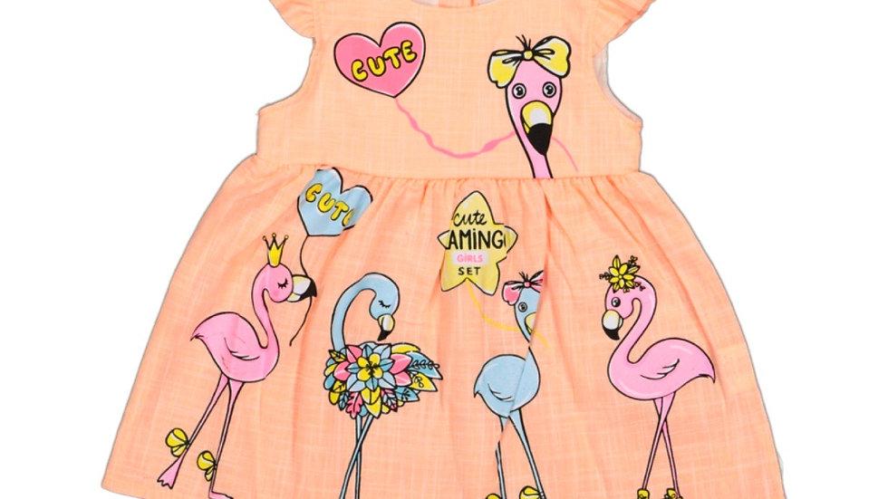 Kleid Flamingo