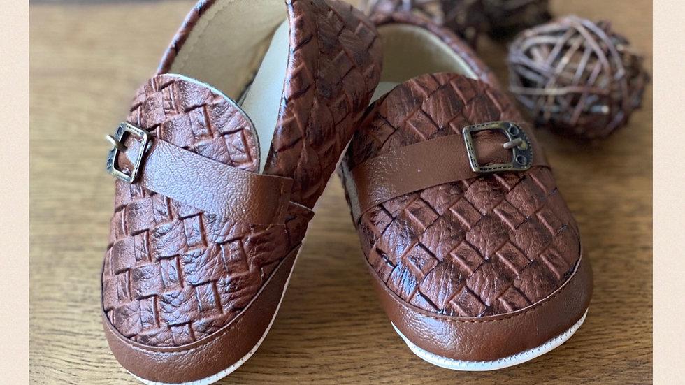 Baby Schuh - soft Sohle - braun
