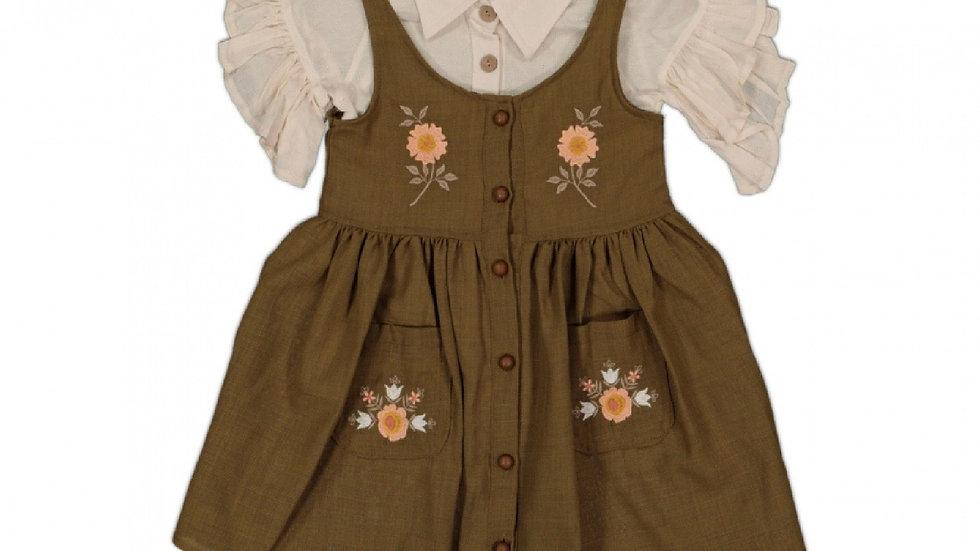 Kleidchen mit Hemd / 2 Teilig
