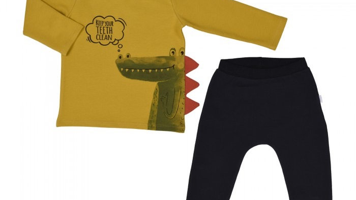 Pullover & Hose / 2 Pcs Set / Keep your teeth clean