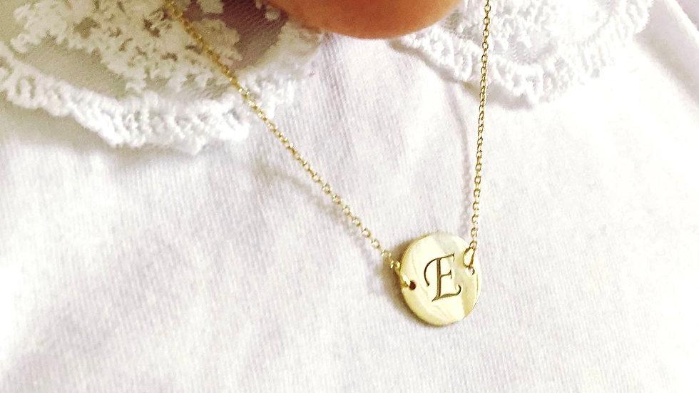 Halskette mit Gravur / 925 Silber