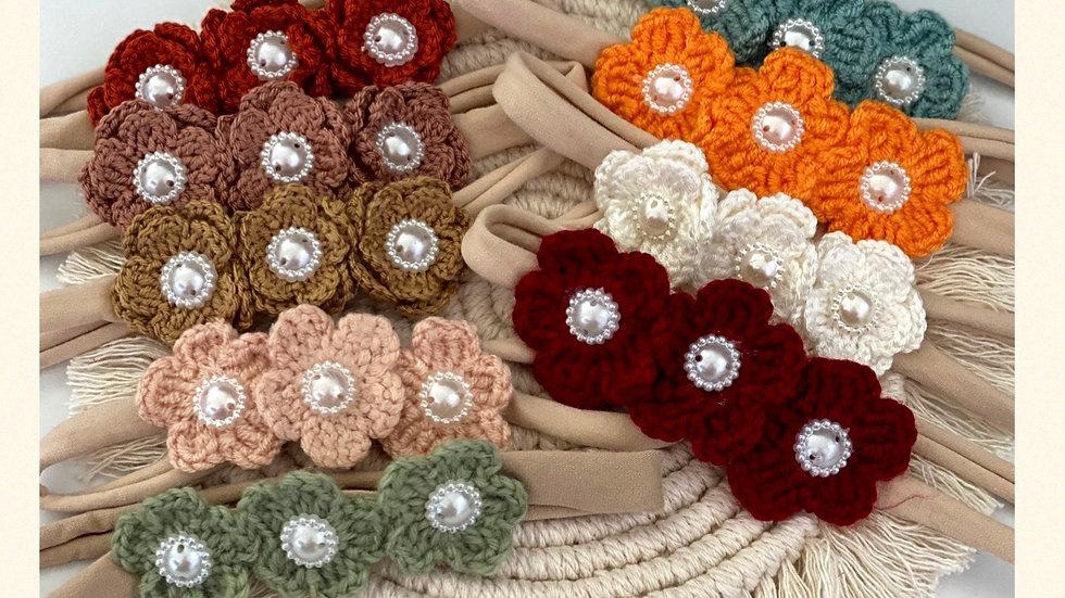 Blumenhaarbänder