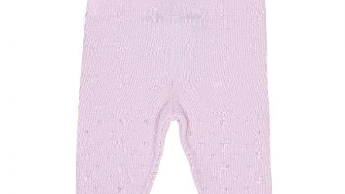 Ajour Pant - Strickhose - pink