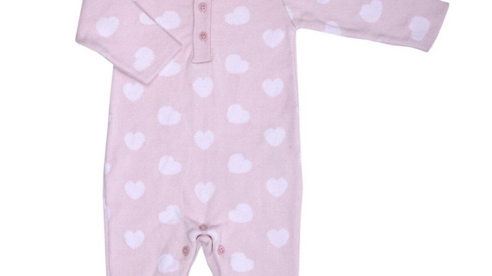 Romper Heart - pink