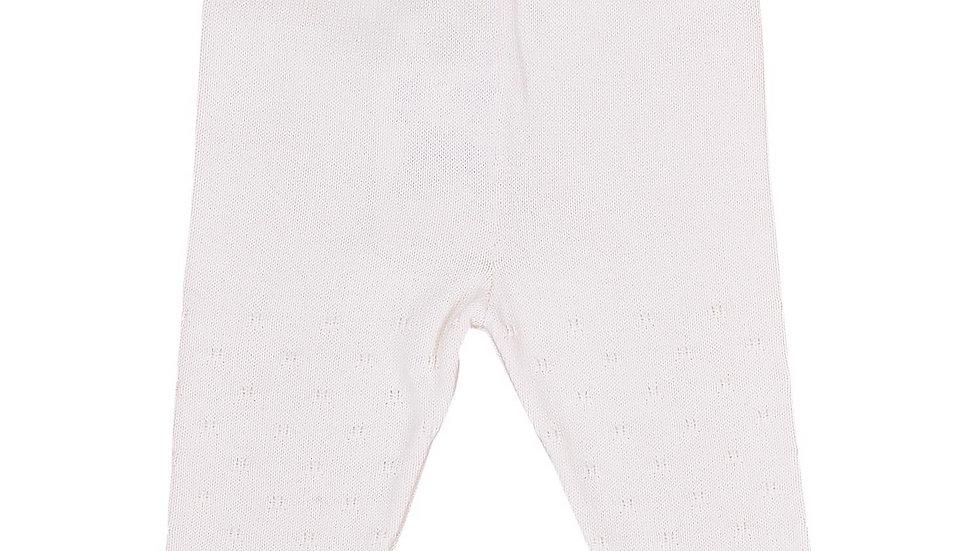 Ajour Pant - Strickhose - natural