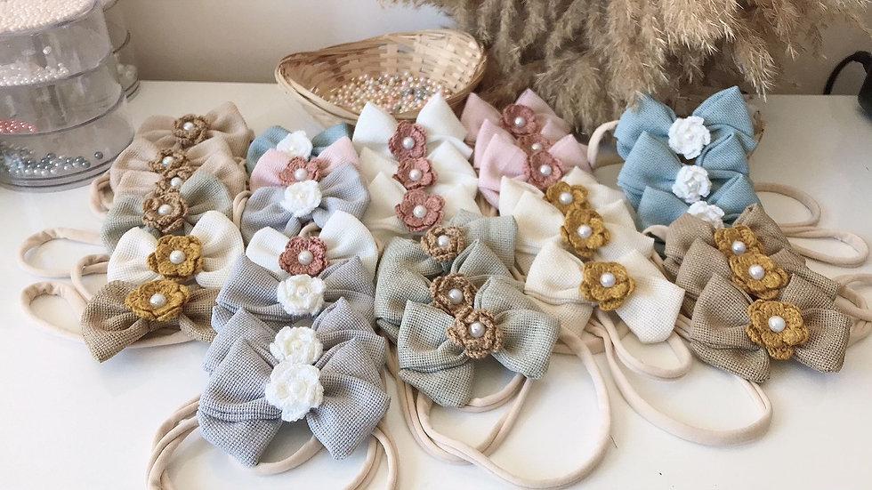 Haarbänder mit Steinchen