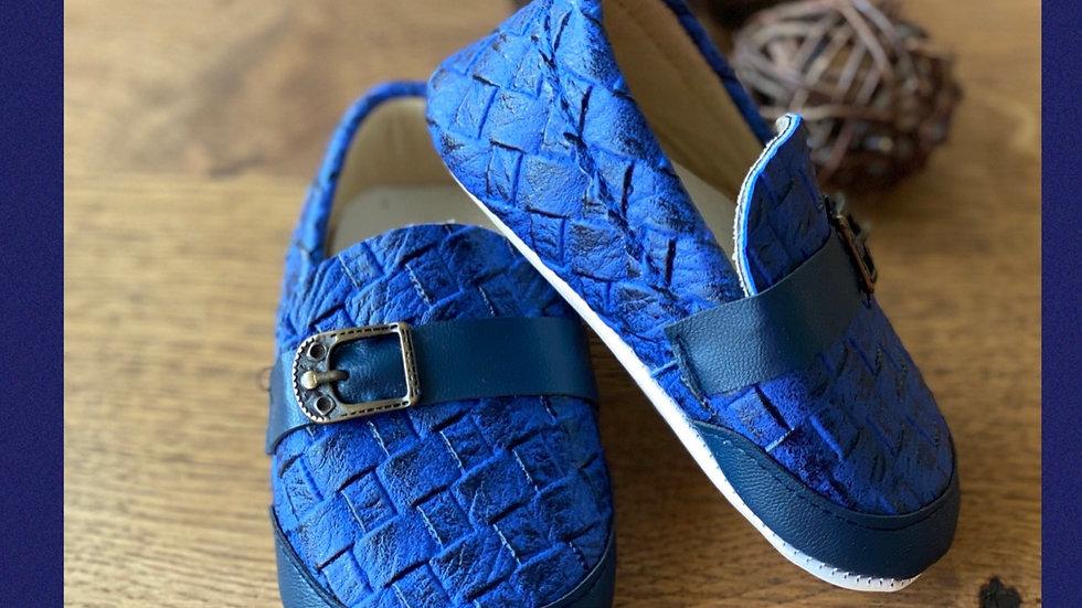Baby Schuhe - soft Sohle - blau