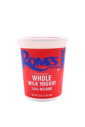 Whole Milk Yogurt 32oz.