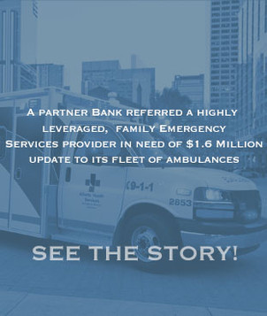 A bank referred a second-generation family owned EMS provider