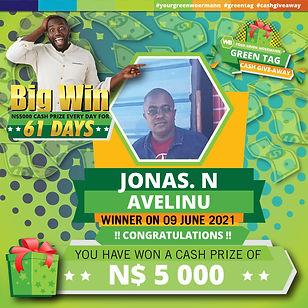 09 06 2021 Jonas N. Avelinu Green Tag Winner Announcement-01.jpg