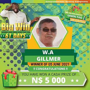 05 06 2021 W.A Gillmer Green Tag Winner Announcement 5000-01.jpg