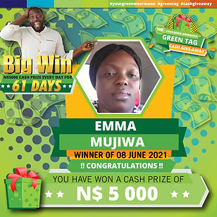 08 06 2021 Emma Mujiwa Green Tag Winner Announcement 5000-01.jpg