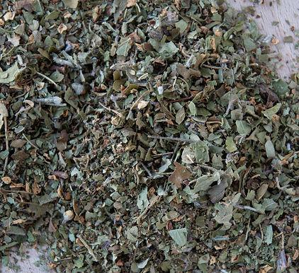 Meidoorn (blad + bloem) gesneden