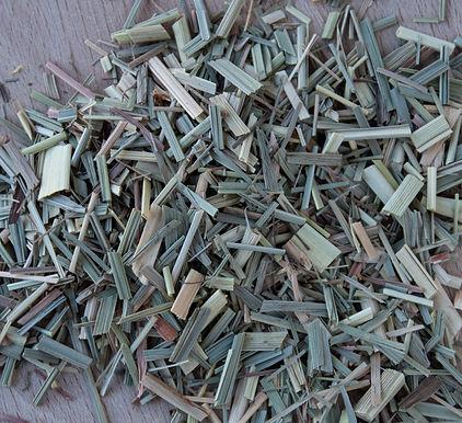 Citroengras (blad) gesneden
