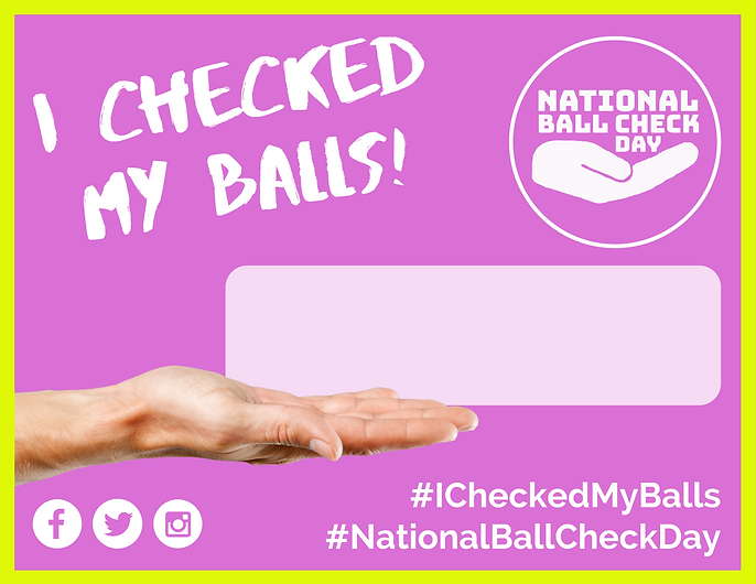 Copy of Copy of I Checked My Balls On...