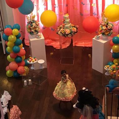 Sunday evening Birthday party! #puppetsg