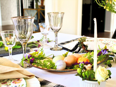 How to create a foraged tablescape