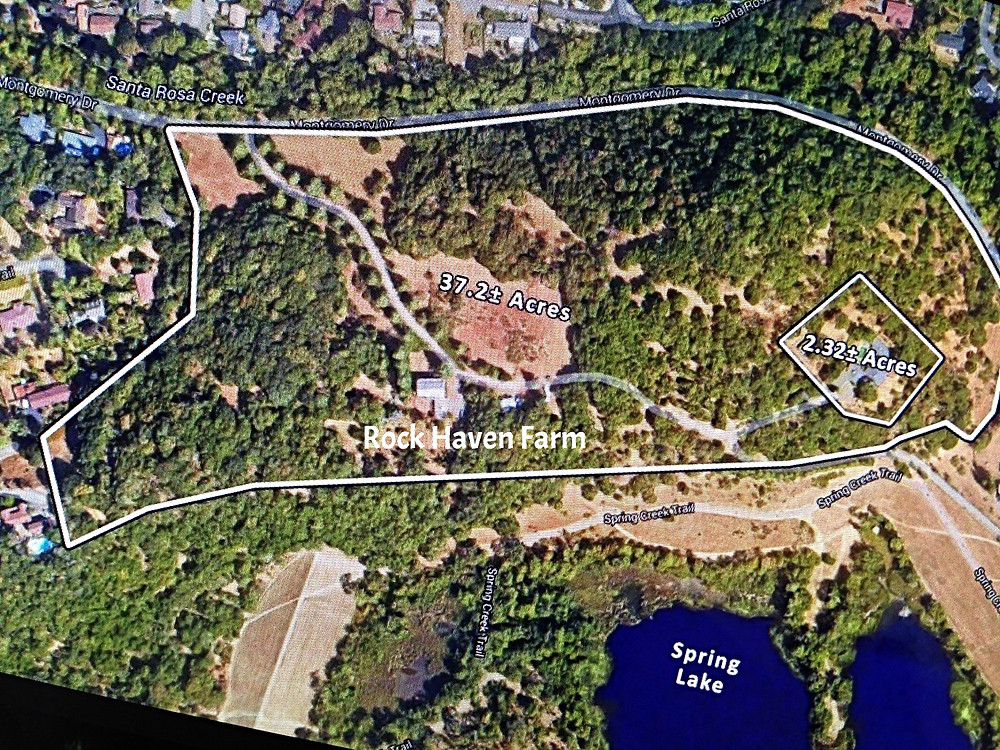 Rock Haven Farm Site Map