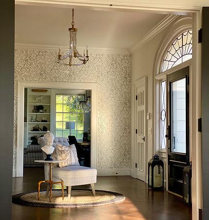 Grand foyer design by SSDesignHub at RockHavenFarm.com