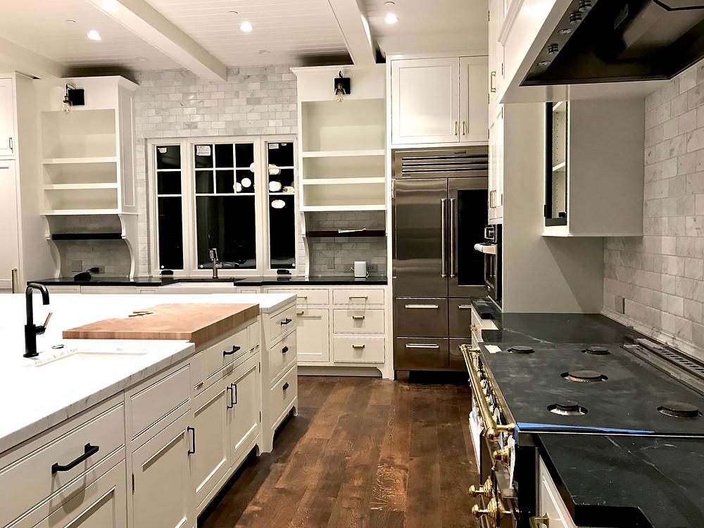 Kitchen renovation by SSDesignHub at RockHavenFarm.com
