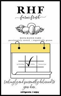 Farm Fresh Eggs from Rock Haven Farm