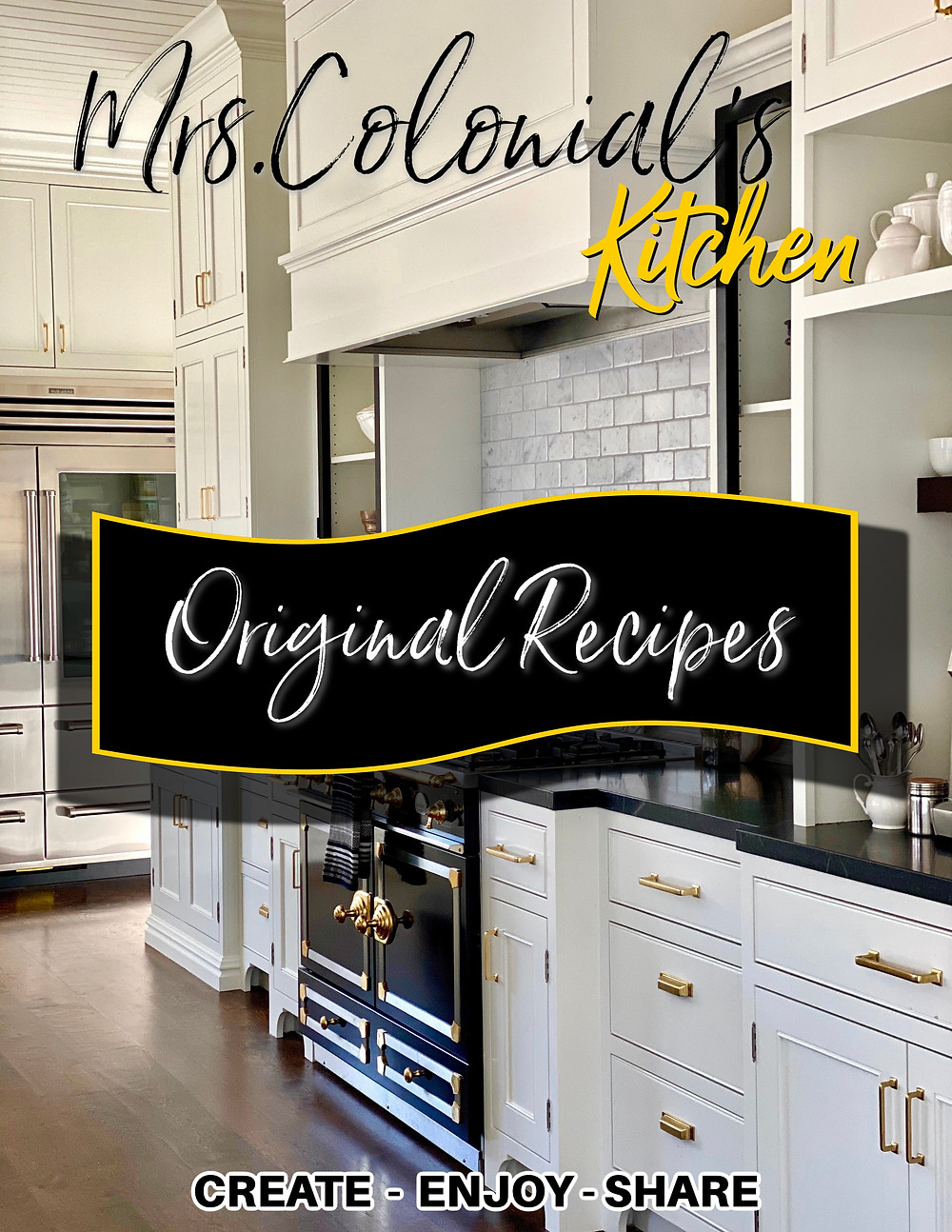 Mrs. Colonial's Kitchen recipes at RockHavenFarm.com