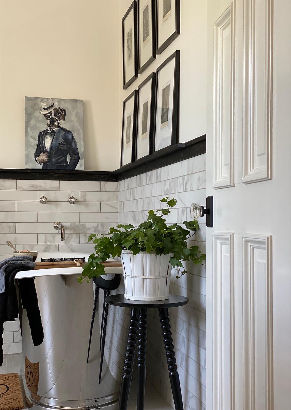 bathroom design, stainless tubs, spa baths, black and white bathrooms, luxury tub, bathroom design,