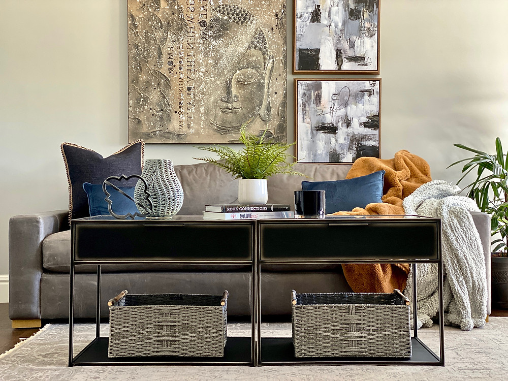 man space, man spaces, sitting areas, eclectic design, leather sofa, how to design interiors, furniture arrangement,