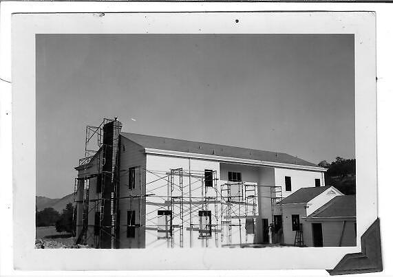 Original construction of the Colonial at RockHavenFarm.com