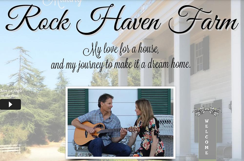 Rock Haven Farm dream home renovation.