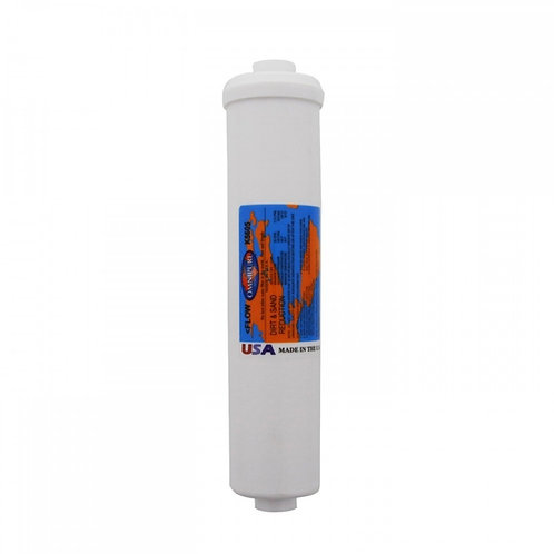 "Omnipure 2.5"" x 12"" 5 Mic Inline Sediment Filter (K5605)"