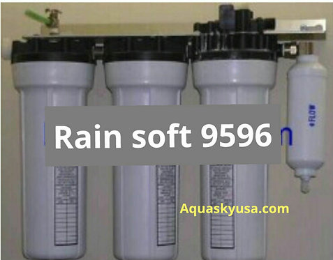 Set of 4 Water Filters Replacement for Rain Soft 9595 With 22 GPD RO Membrane