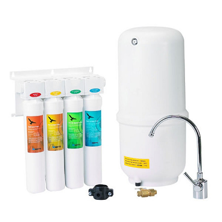 Under Sink Systems Aquasky Rot 4 Reverse Osmosis Water