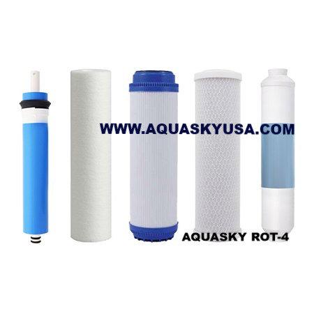 Aqua sana  Set Of 5 Replacement Filters