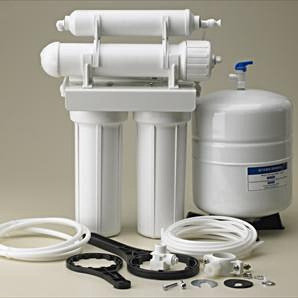 4 STAGE UNDER SINK REVERSE OSMOSIS WATER SYSTEM RO 50 GALLON PER DAY FILTER
