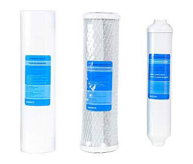 Amtrol Reverse Osmosis Replacement Filters Cartridges & Membrane - 3 Filters