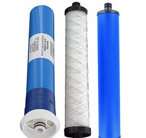 HERO II Reverse Osmosis System Parts Filters Replacement Cartridges - set of 3