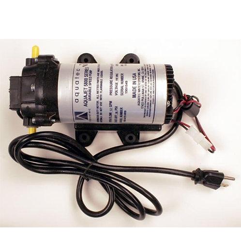 """Aquatec 5800 Delivery/Demand Pump 1.7 GPM, 3/8"""" JG 120V"""