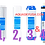 Thumbnail: RoPro Reverse Osmosis - 4 Stage System Replacement Filters - Set Of 4 Cartridges