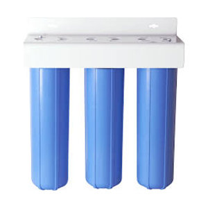 """Three Stage Big Blue Style 20"""" whole hous OR commercial Filtration System"""
