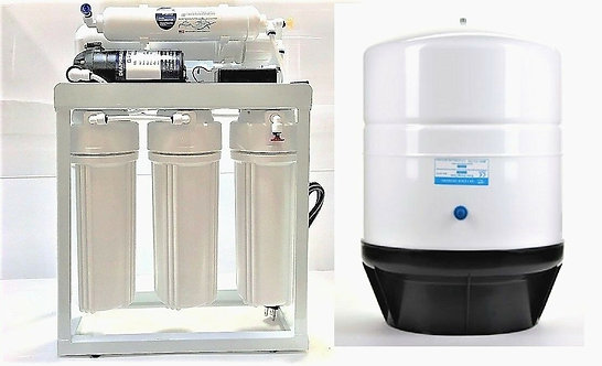 Light Commercial Reverse Osmosis  System - 300 Gallone Per Day Flow Rate