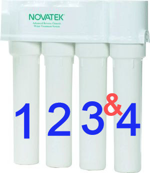Novatek Reverse Osmosis Replacement Filters