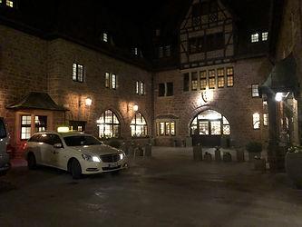 Innenhof des Hotel auf Wartburg bei Eisenach
